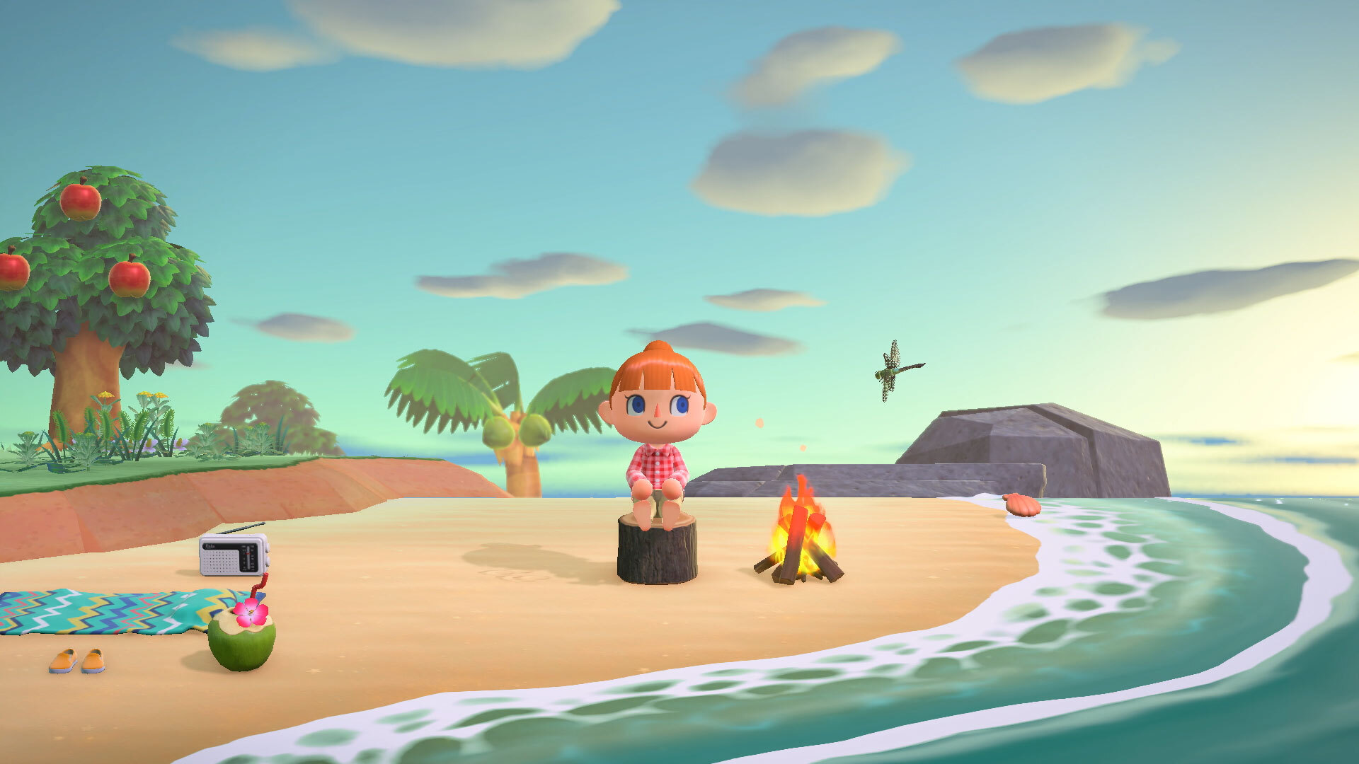 Pescar en Animal Crossing