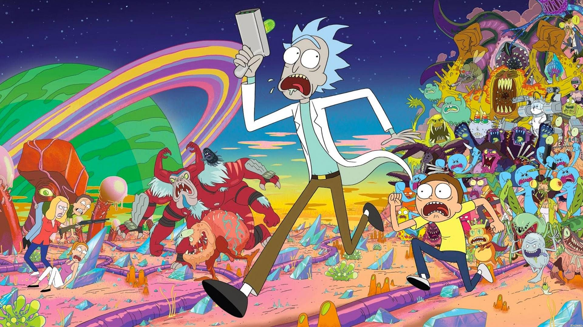 Merchandising de Rick y Morty