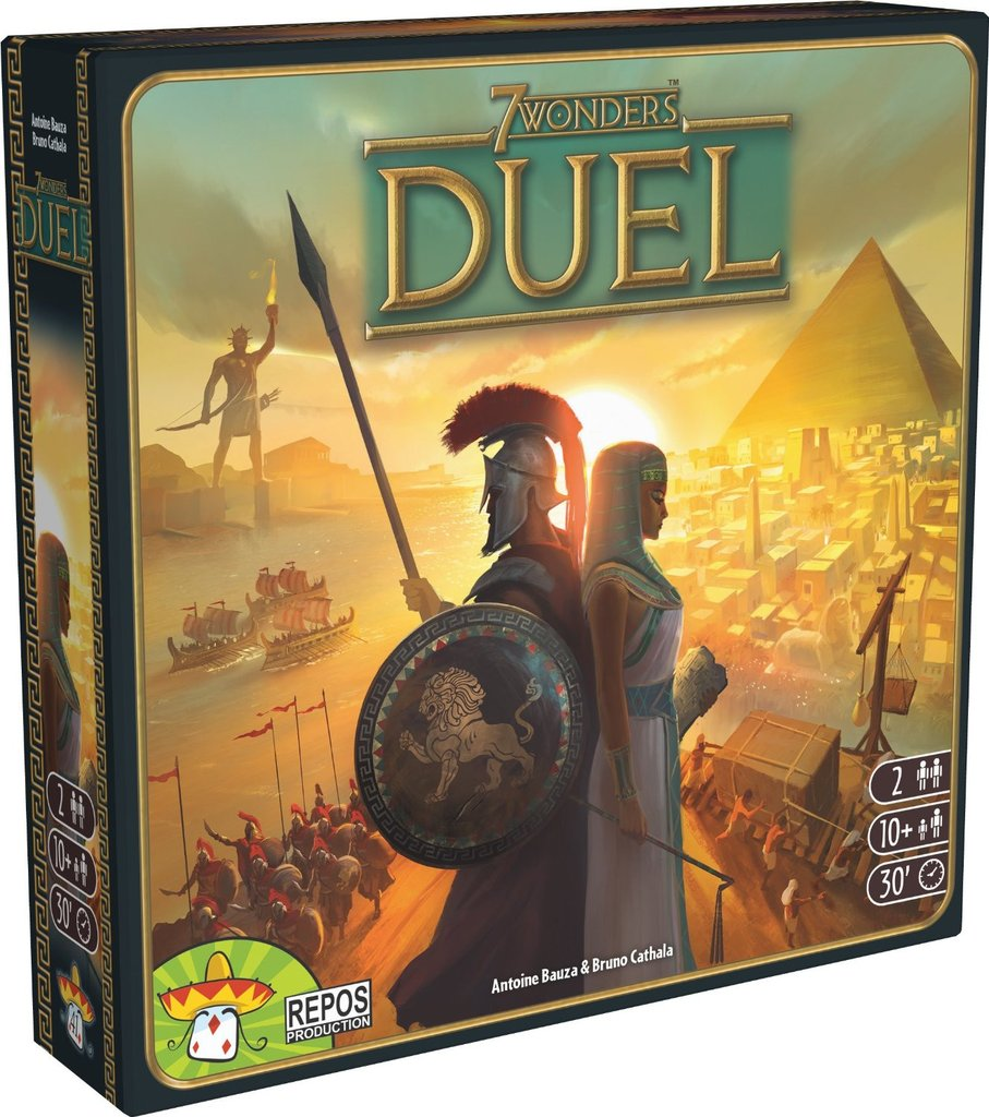 Jugar a 7 wonders duel