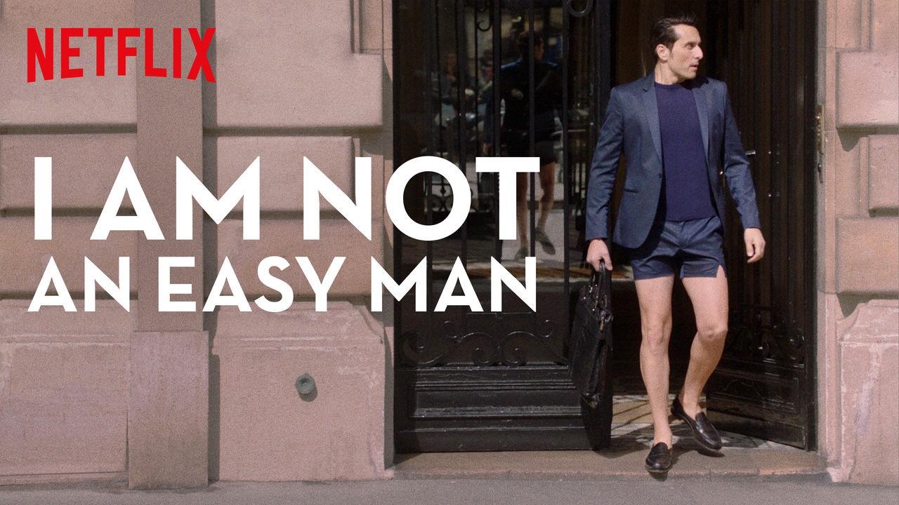 Cartel de No soy un hombre fácil