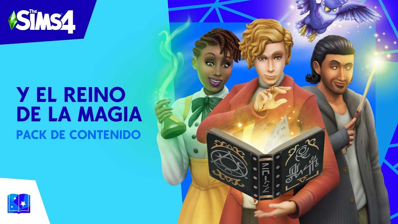 Jugar a Los Sims 4 y el Reino de la Magia