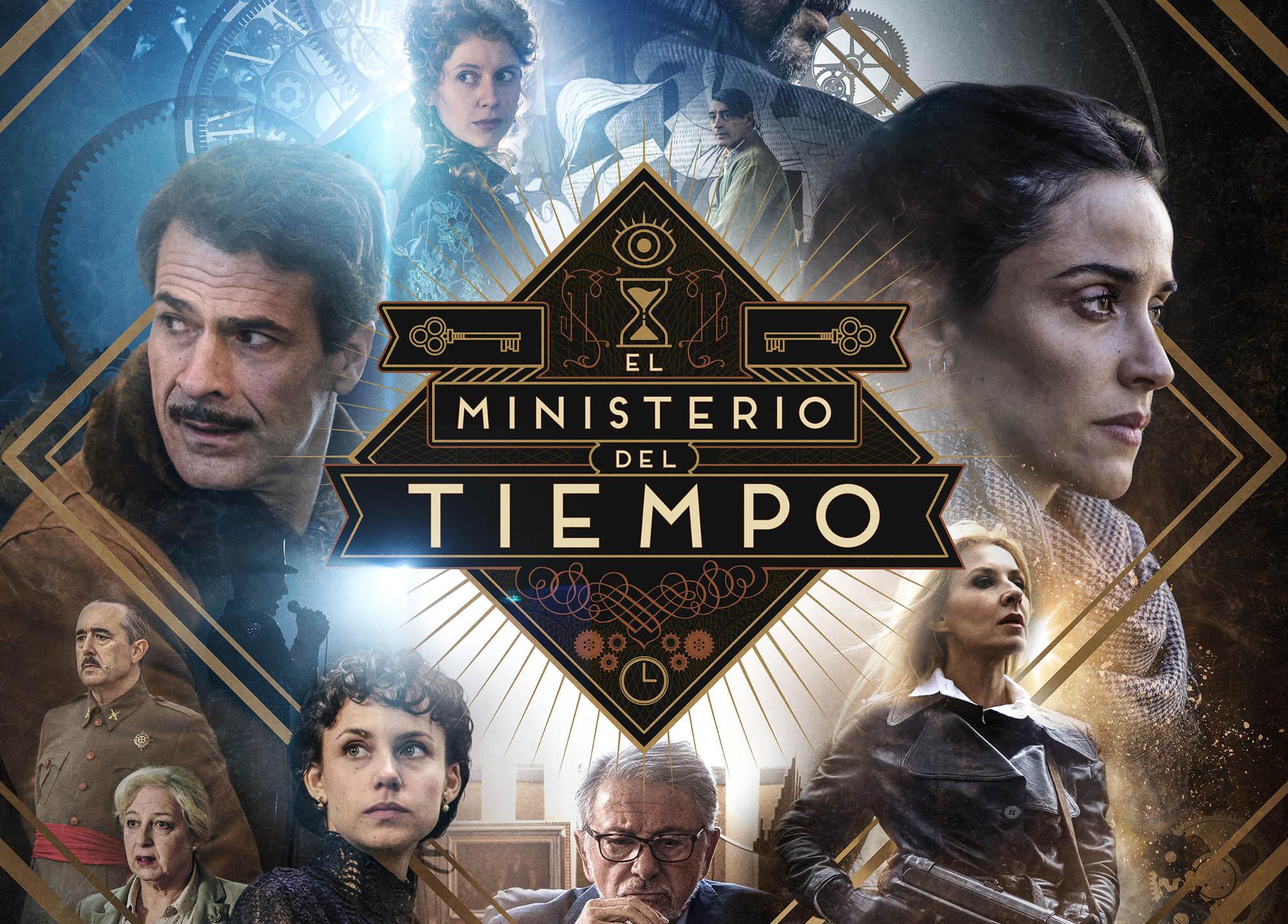 Cartel de la temporada 4 de El ministerio del tiempo