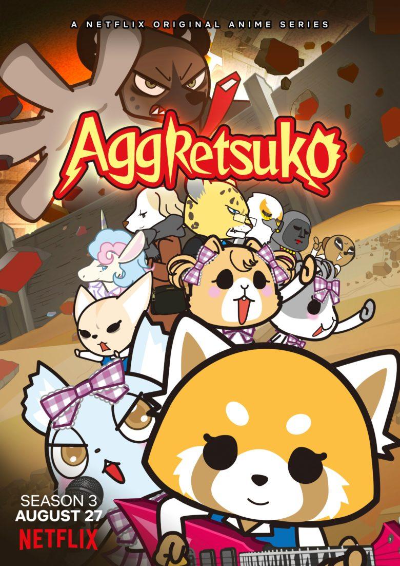 Cartel de la temporada 3 de Aggretsuko