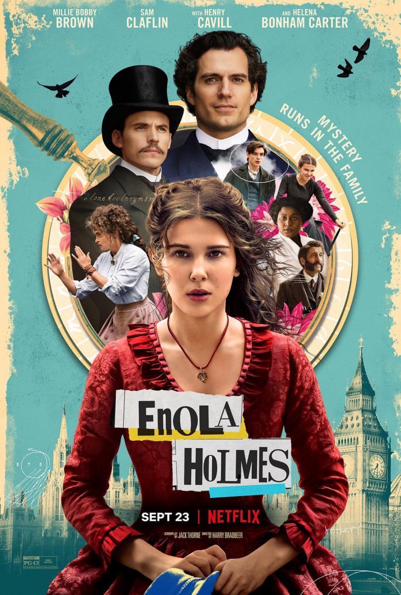 Cartel de Enola Holmes