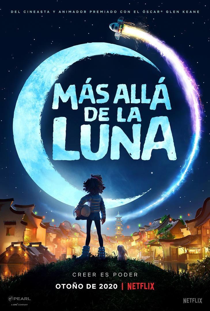 Cartel de Más allá de la Luna