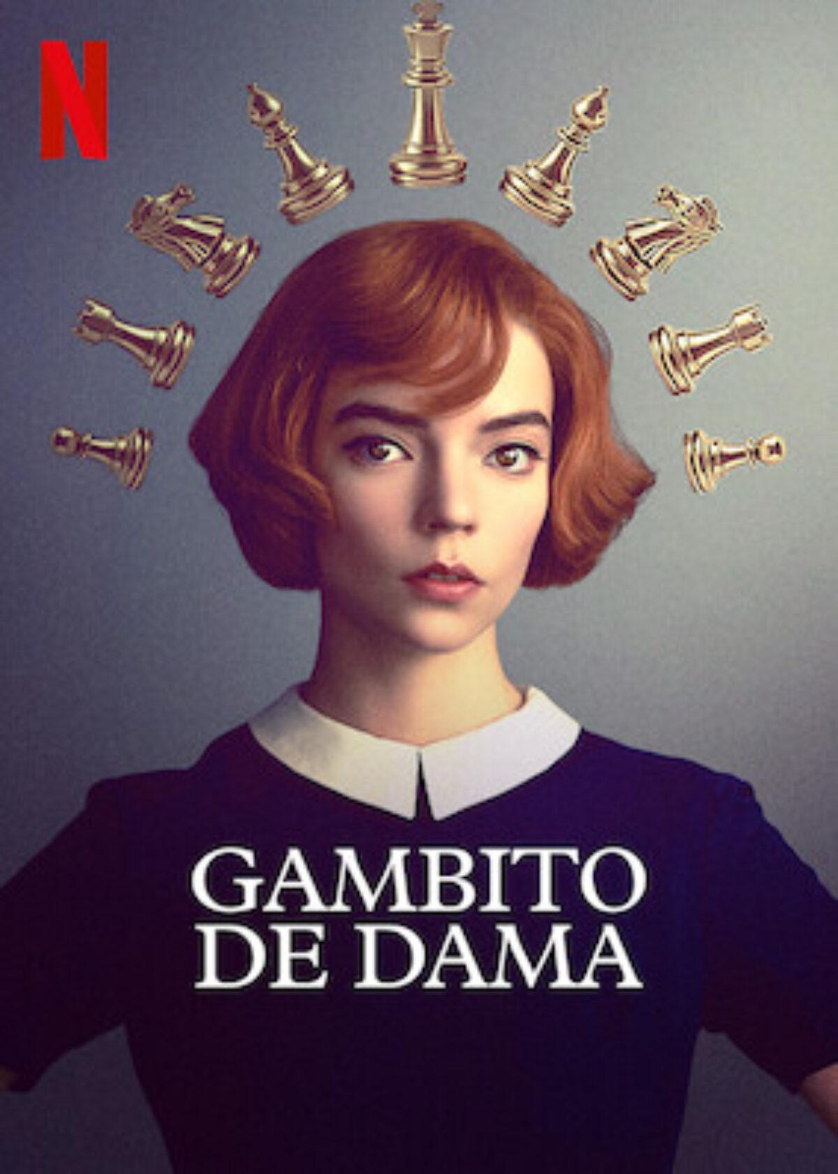 Cartel Gambito de dama