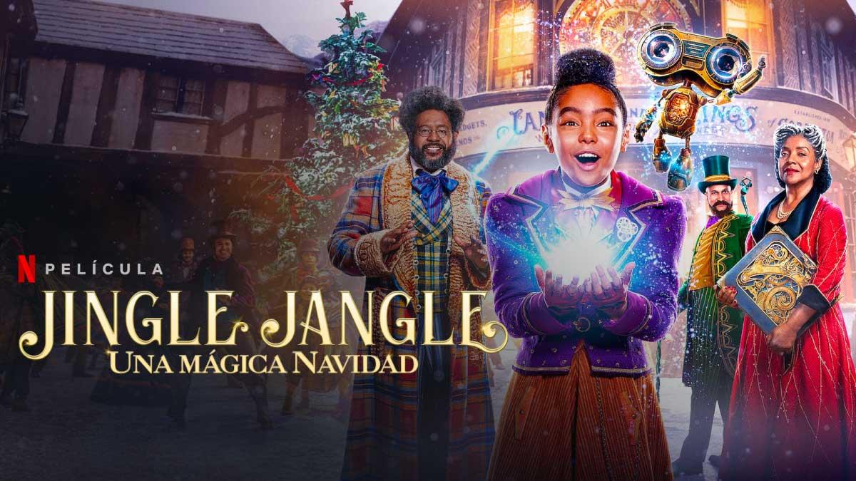 Película La navidad mágica de los Jangle