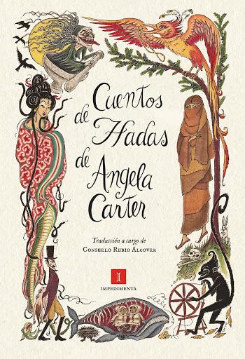 Cartel de Cuentos de hadas de Angela Carter