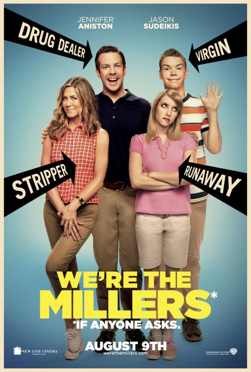 Cartel de Somos los Miller