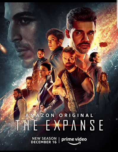 Cartel de la temporada 5 de The Expanse