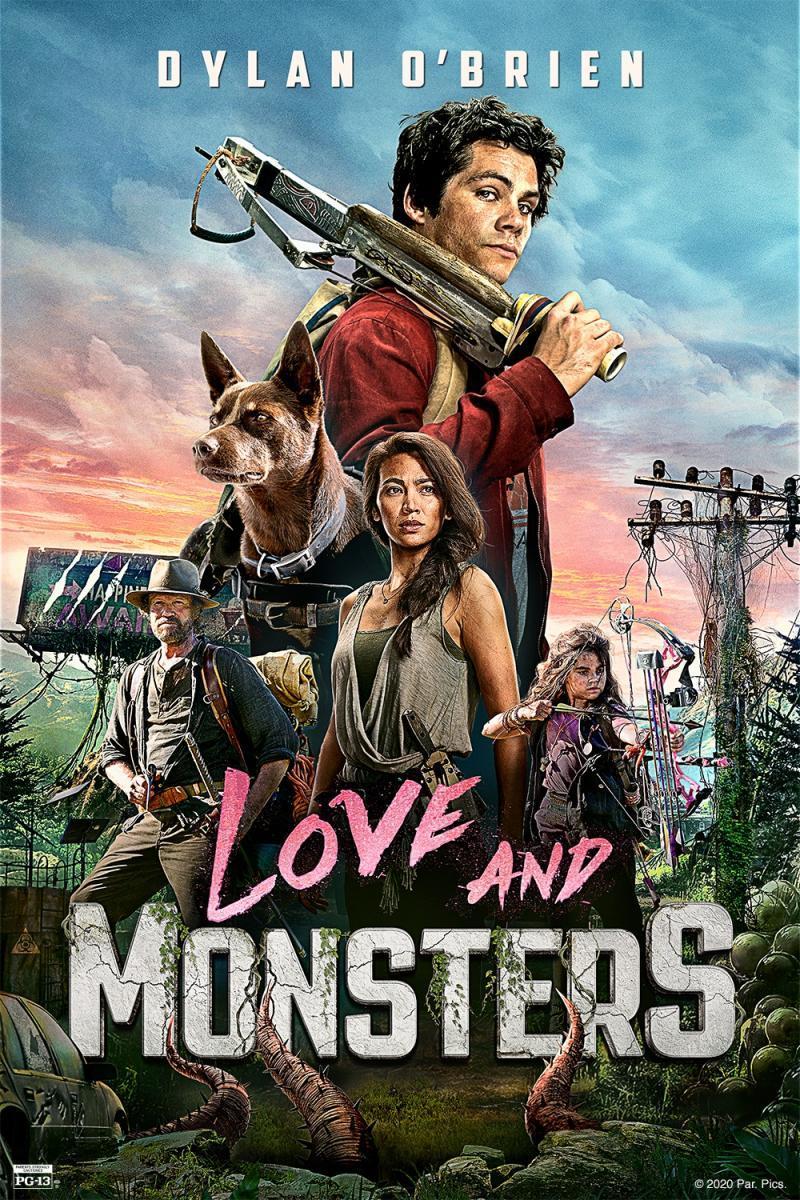 Cartel De amor y monstruos