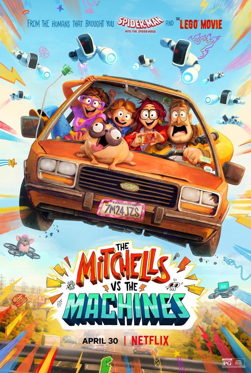 Cartel de Los Mitchell contra las máquinas