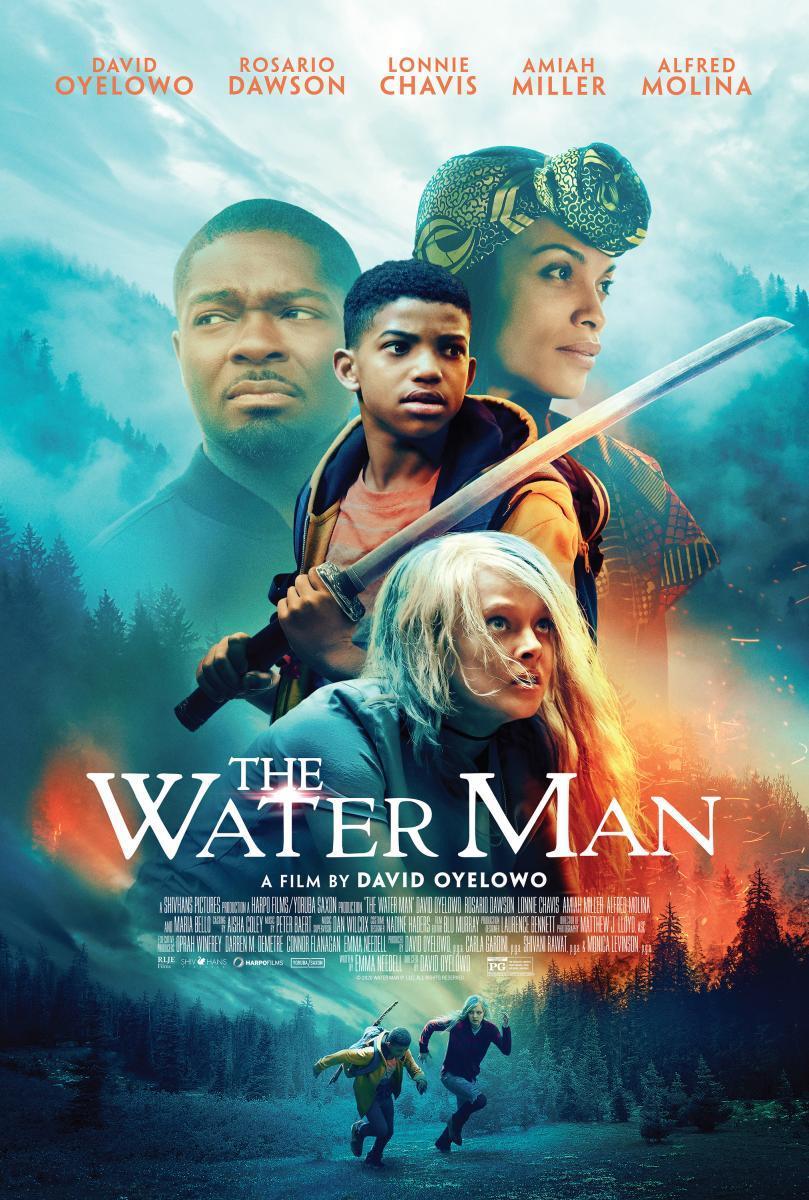 Cartel de El hombre agua