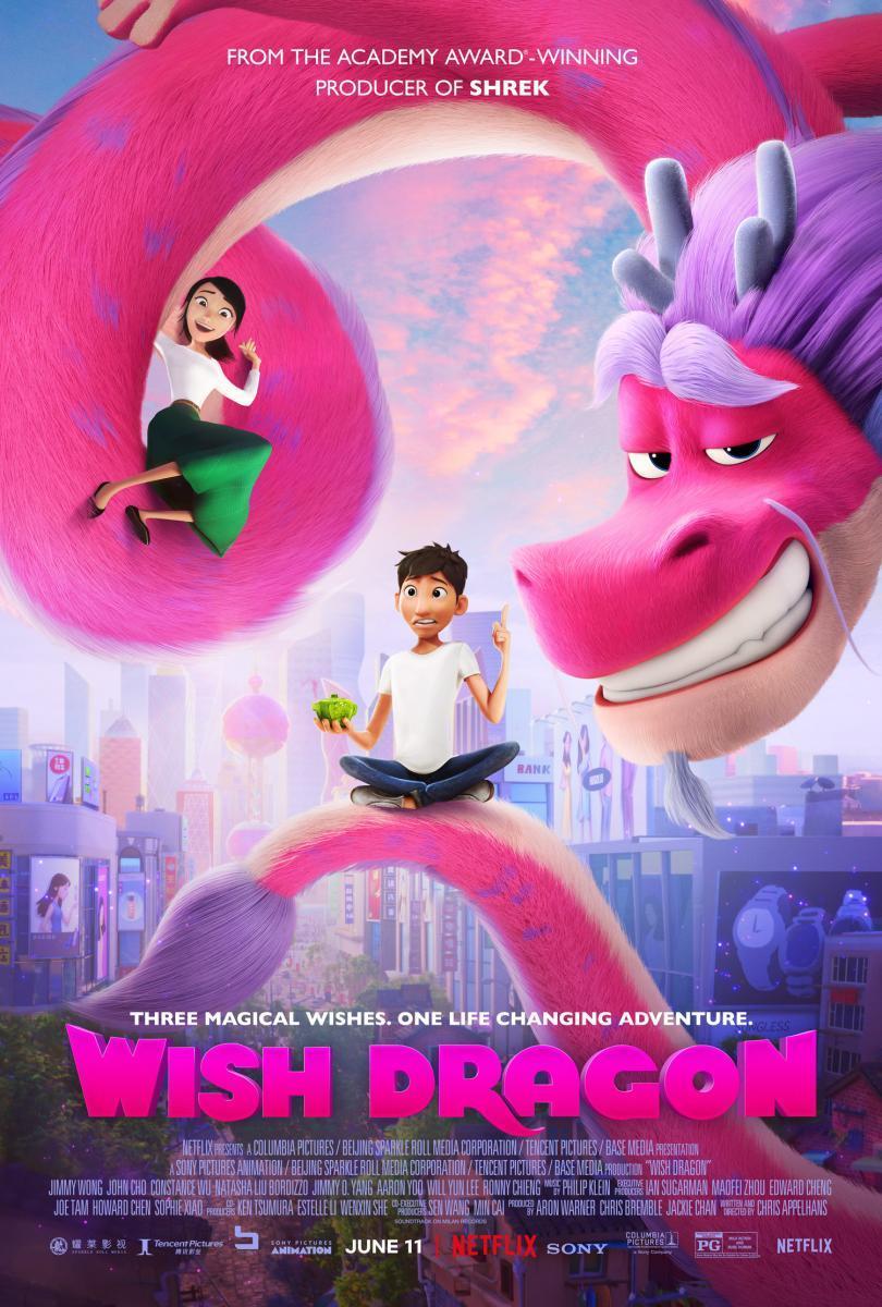Cartel de la película El dragón de los deseos