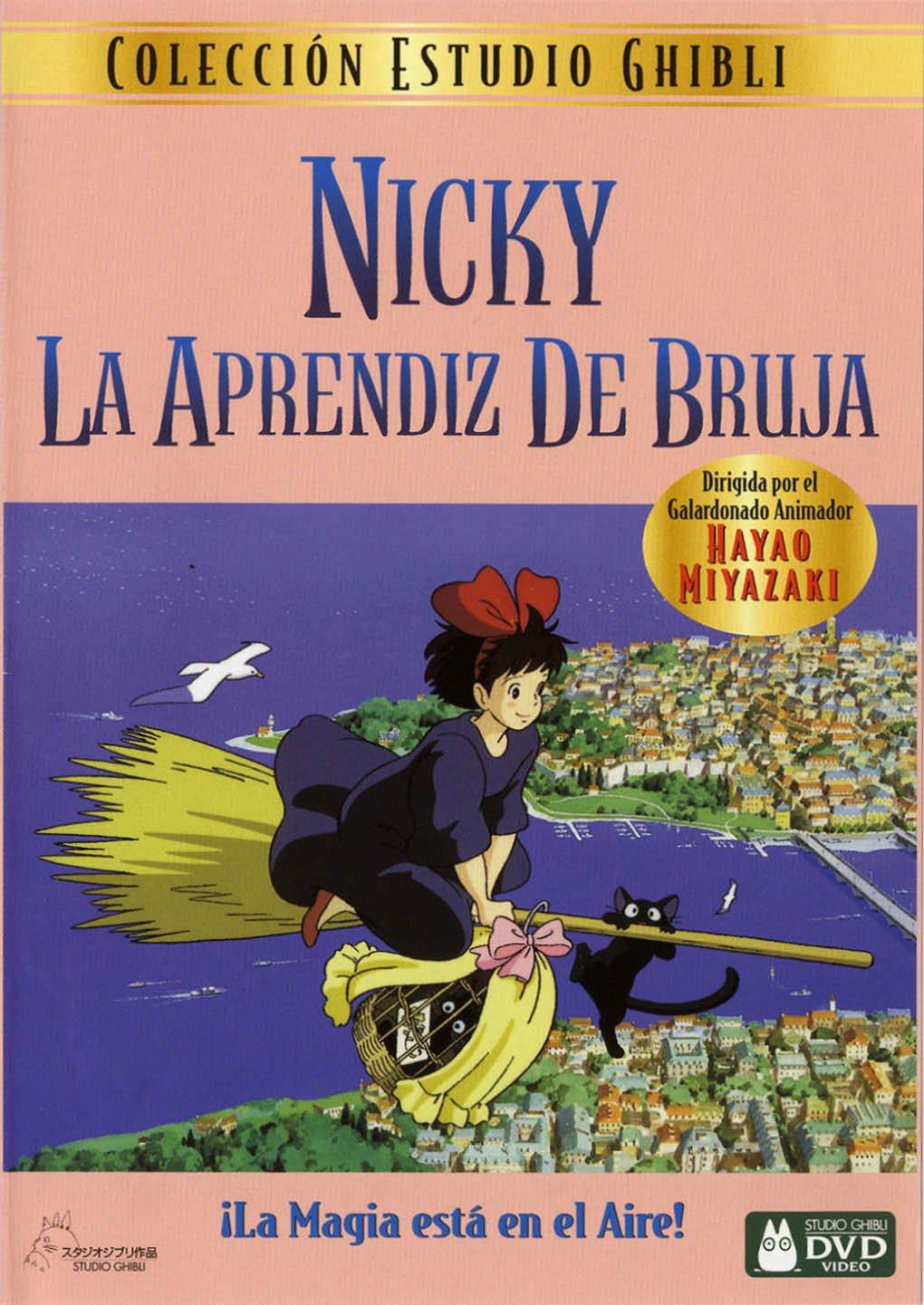 Cartel de Nicky, la aprendiz de bruja