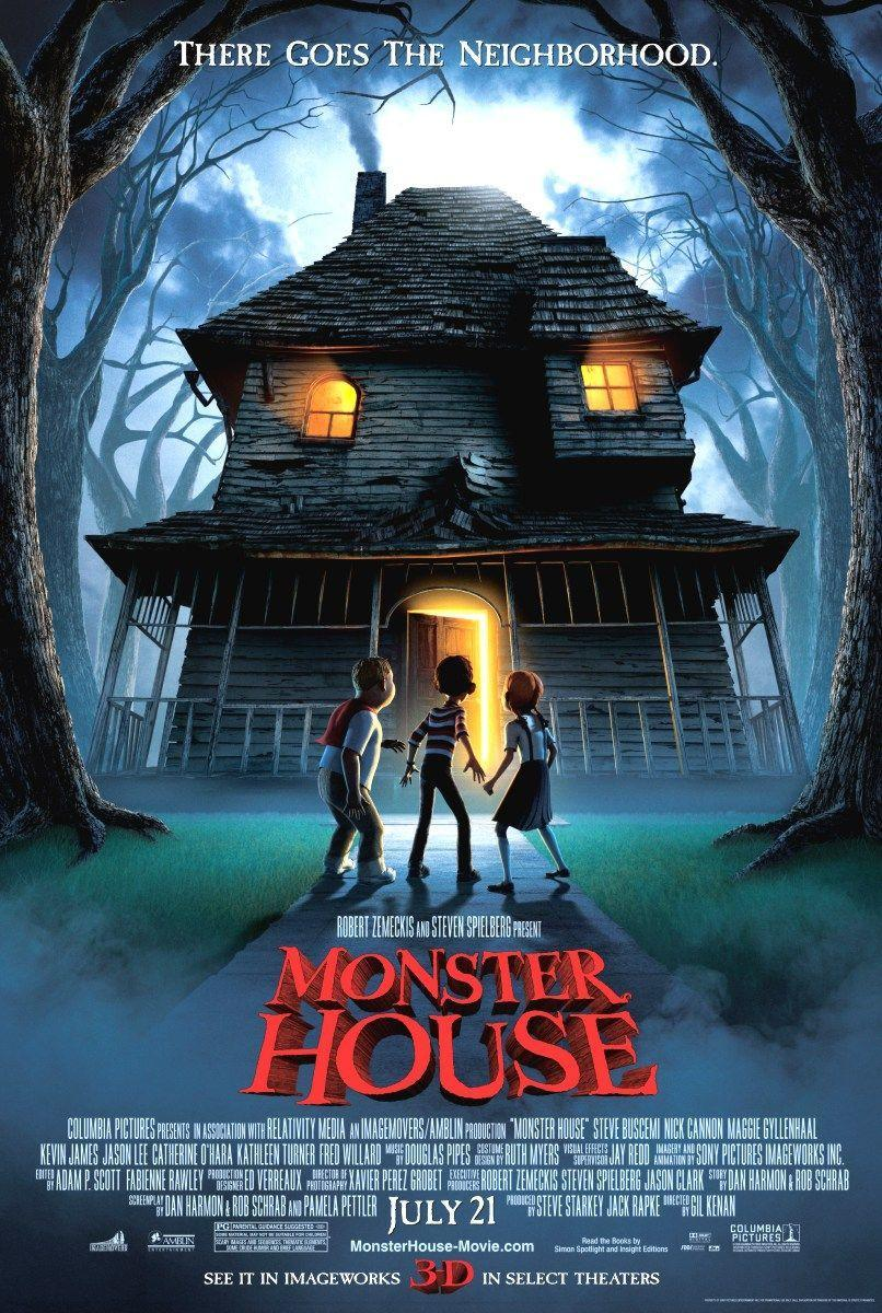 Cartel de Monster House