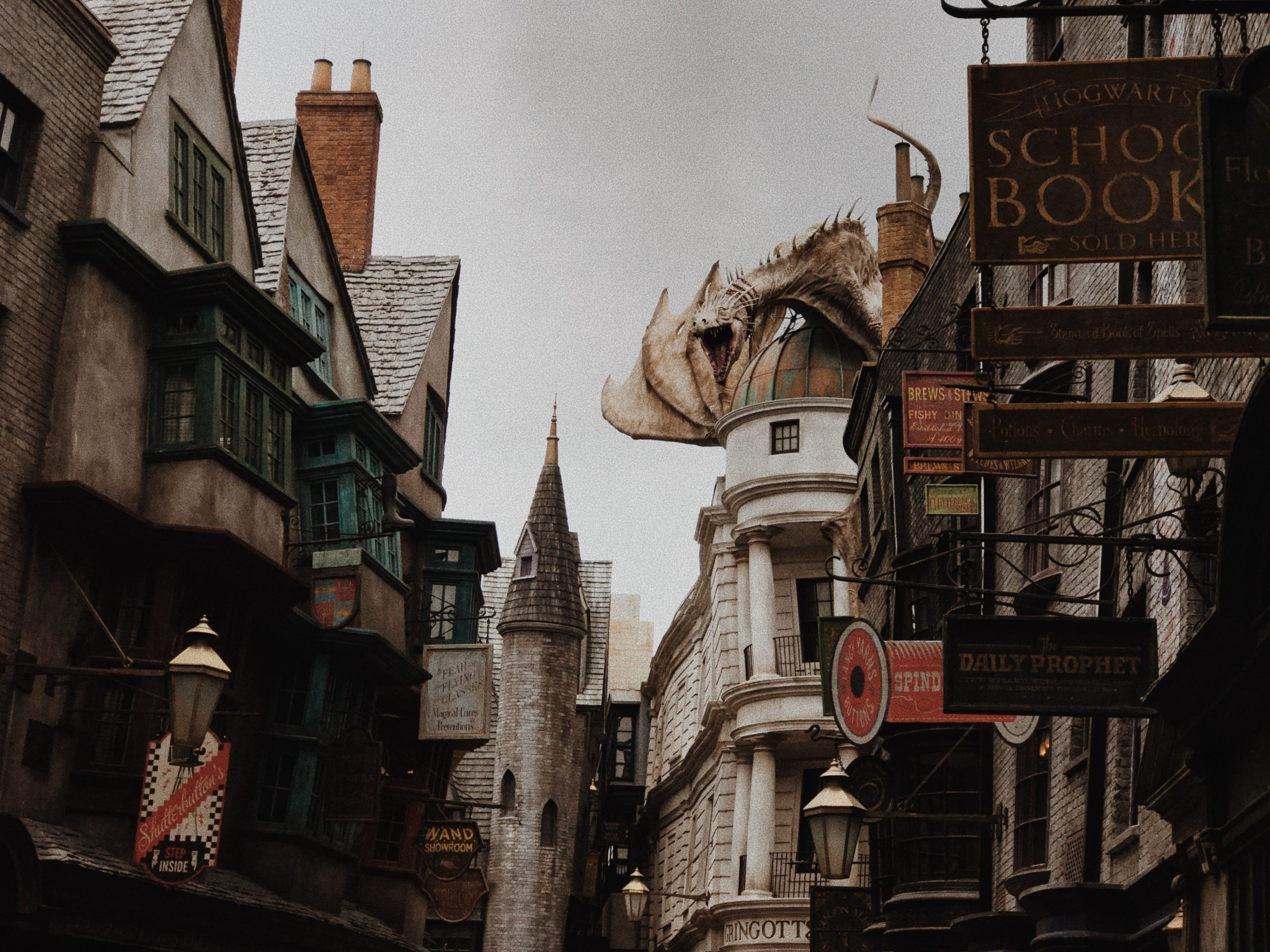 Magos y brujas de Harry Potter